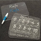 Trace & Wipe Board - Number - Wholesale