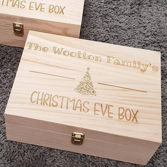 Christmas Eve Box - READY TO POST