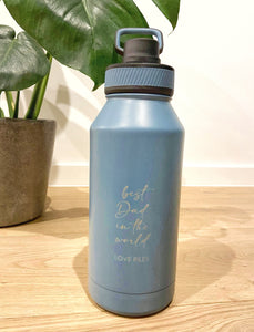 Large 1.5L Personalised Metal Bottle