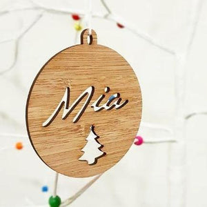 Personalised Christmas Bauble - Style #2