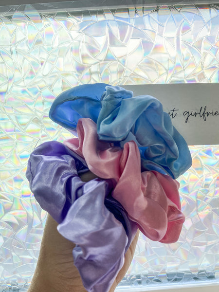 Silk Scrunchie Pack