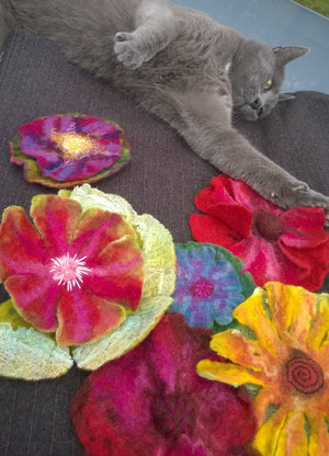 Felted Flowers Workshop