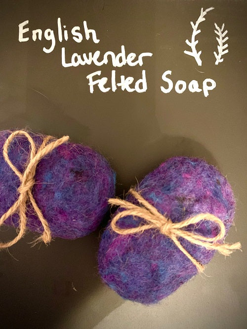 Felted Soap Workshop - Feb. 1
