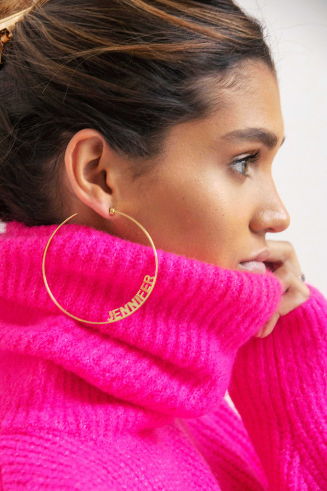 Ciara Large Hoop Earrings