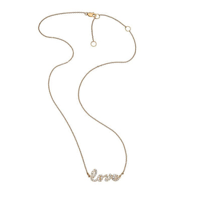 Addison Pave 14K Necklace