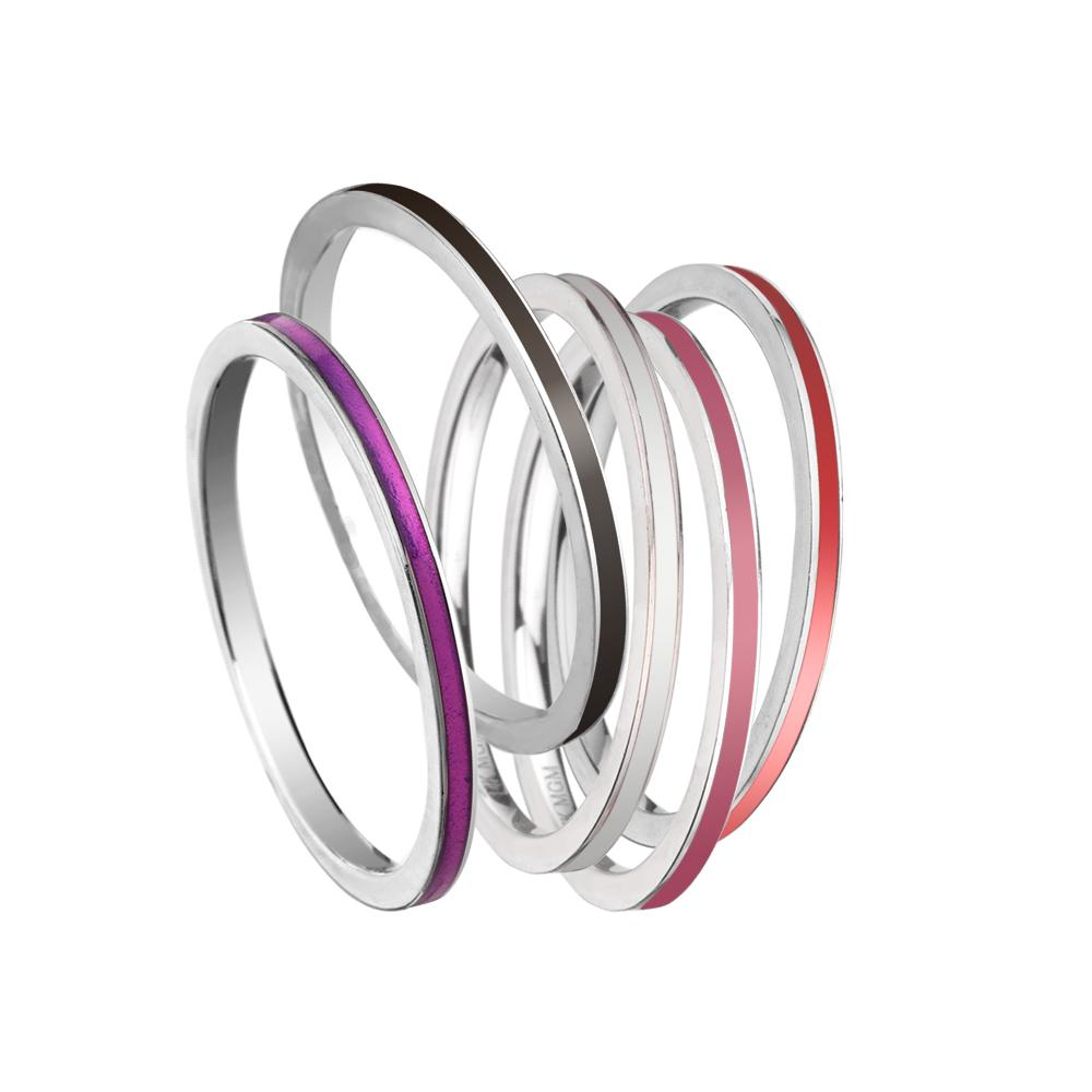 Jennifer Zeuner Jewelry Anika Rae Rings Set 7 / sterling silver