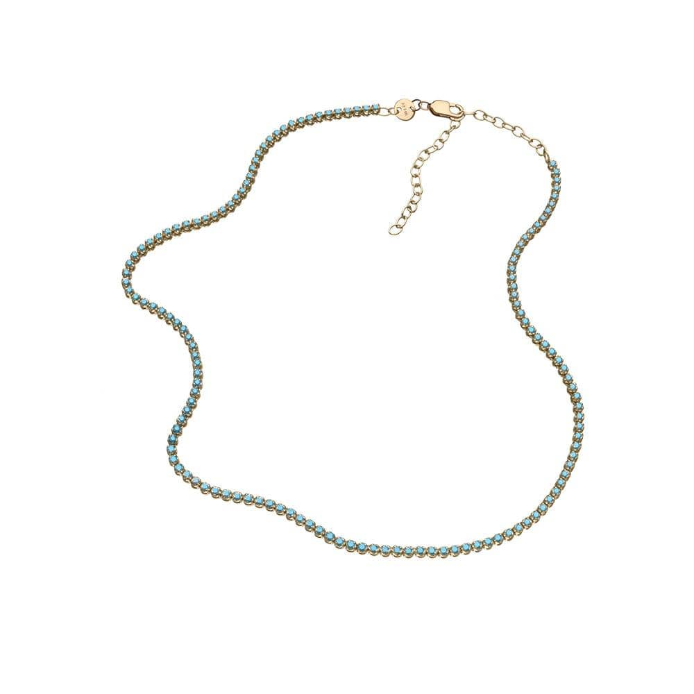 Jennifer Zeuner Jewelry Daphne Pave 14K Necklace
