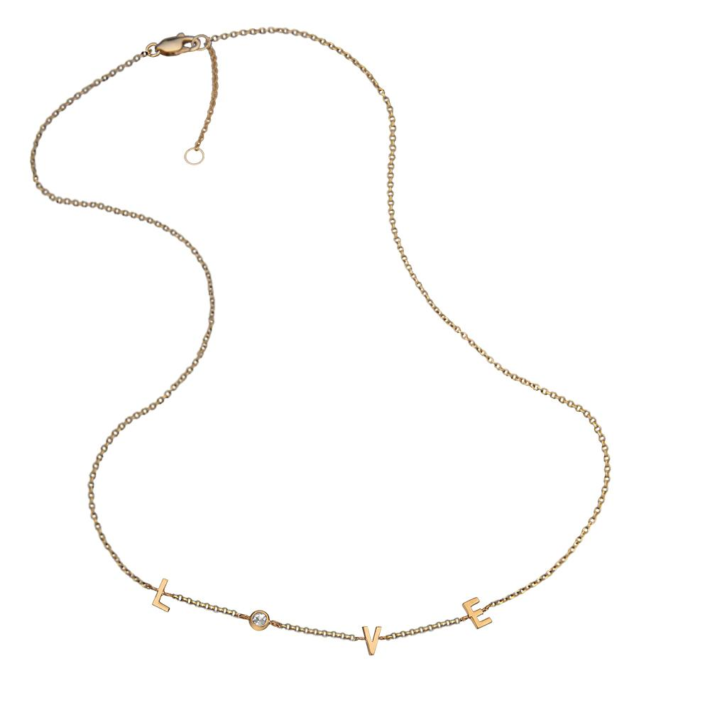 Jennifer Zeuner Jewelry Emerson Necklace gold vermeil