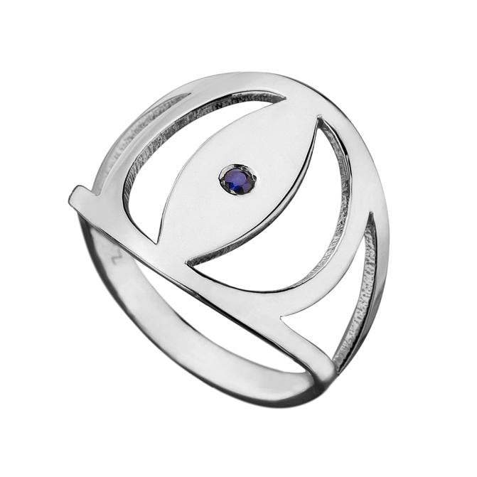 Jennifer Zeuner Jewelry Gabby Ring sterling silver / 7