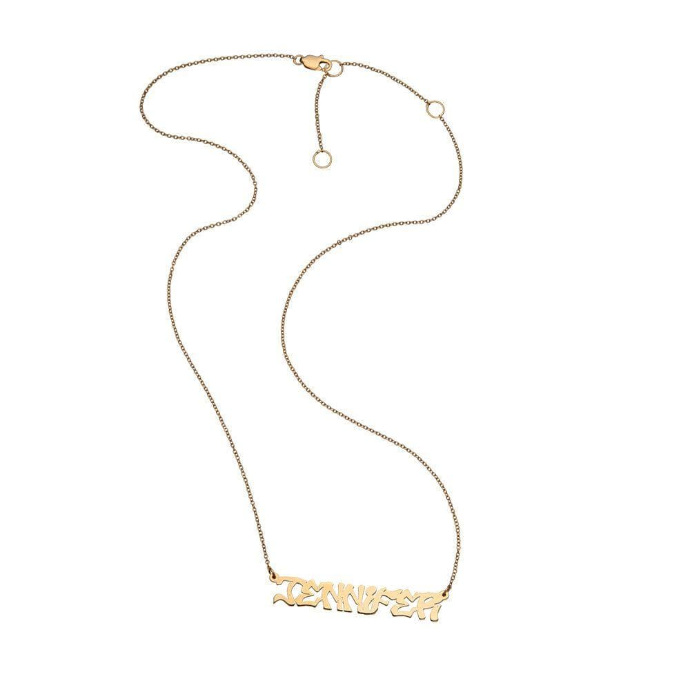 Jennifer Zeuner Jewelry Issa Necklace gold vermeil