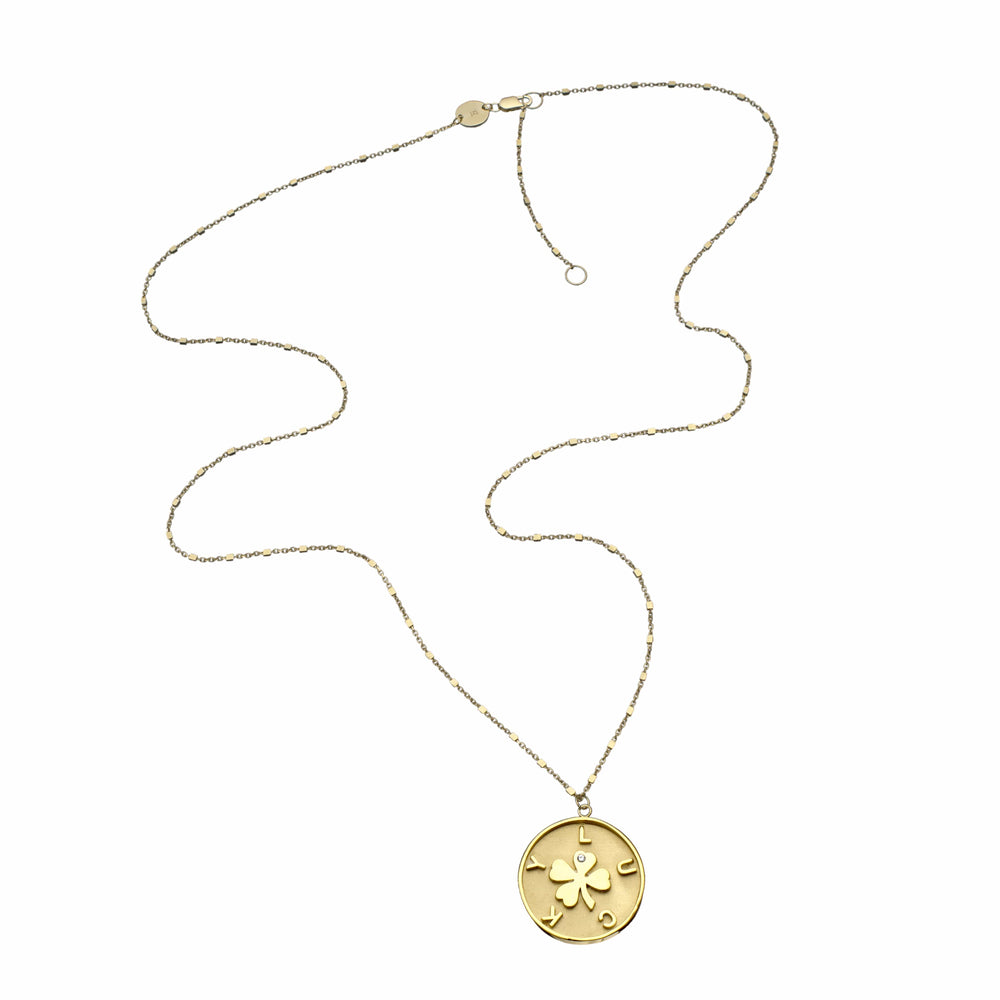 Jennifer Zeuner Jewelry Kennedy Necklace rose vermeil