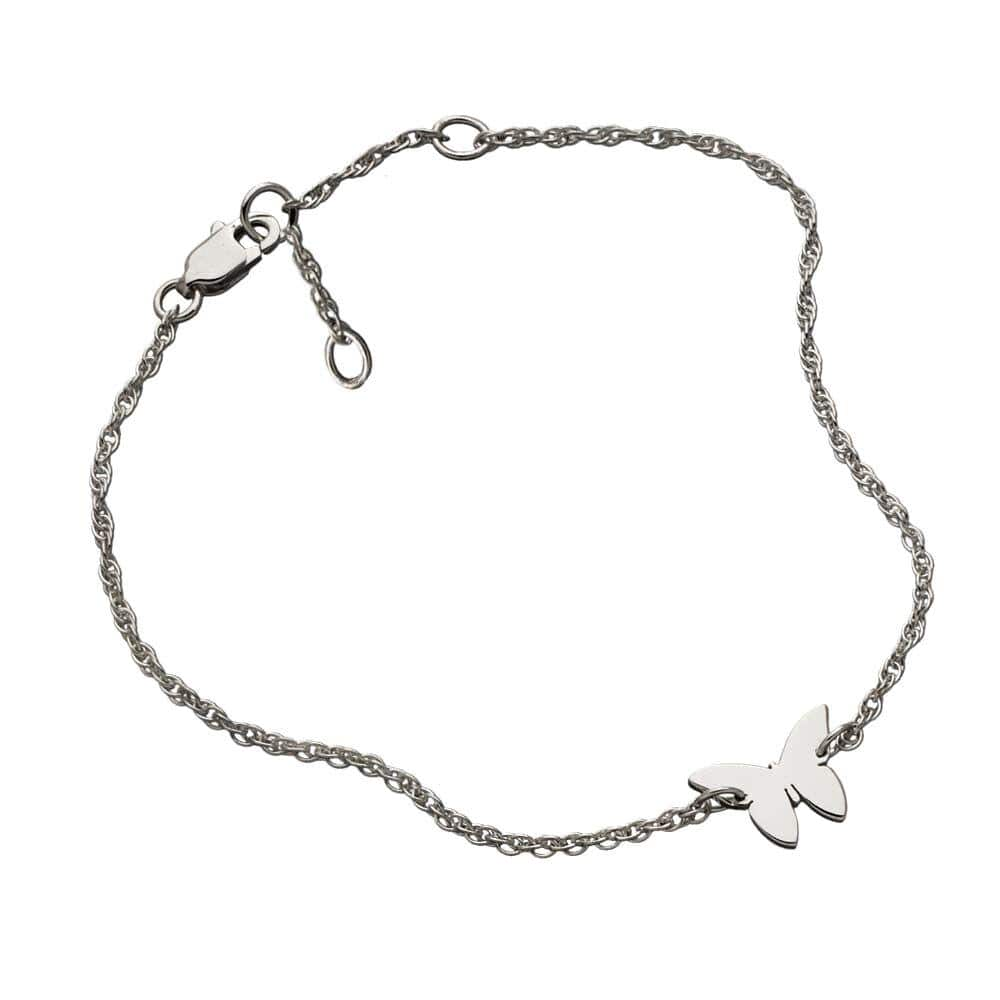 Jennifer Zeuner Jewelry Mariah Bracelet stainless steel plated silver