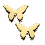 Jennifer Zeuner Jewelry Mariah Earrings 14k yellow gold plated silver
