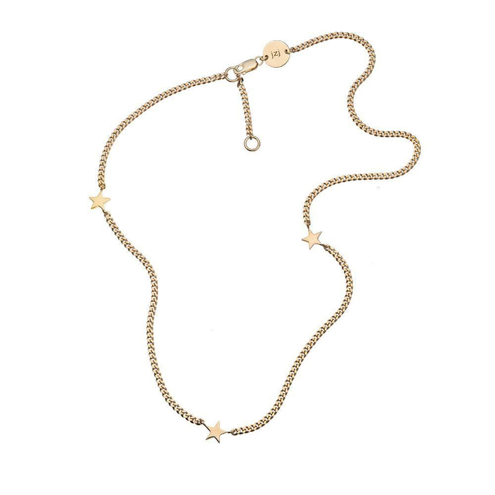 Jennifer Zeuner Jewelry Maura Romy Necklace gold vermeil