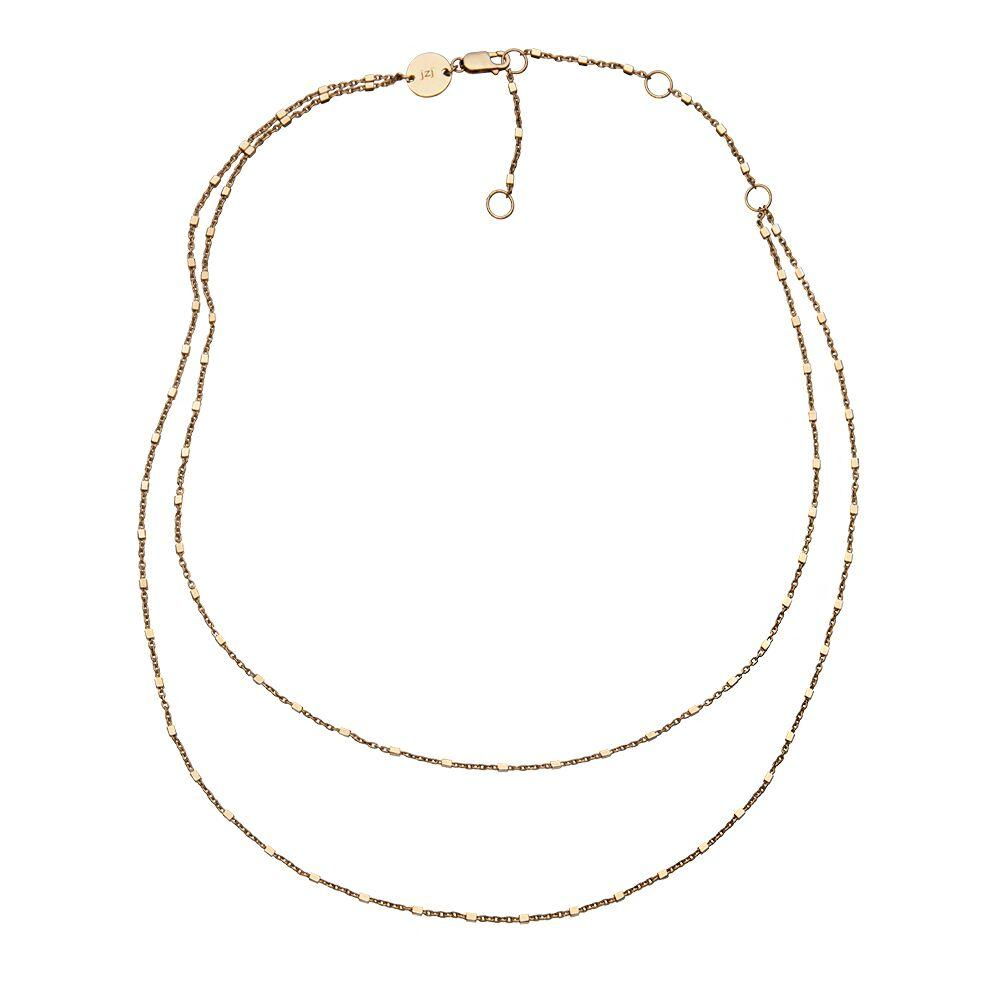 Jennifer Zeuner Jewelry Mav Necklace gold vermeil