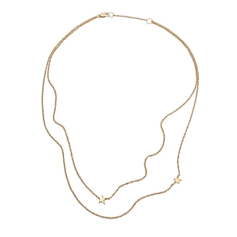 Jennifer Zeuner Jewelry Mika 14K Necklace 14k yellow gold