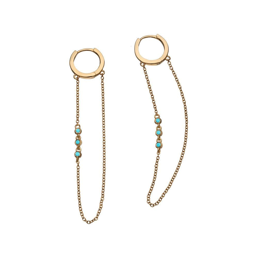 "Jennifer Zeuner Jewelry Lou 2"" Hoops"