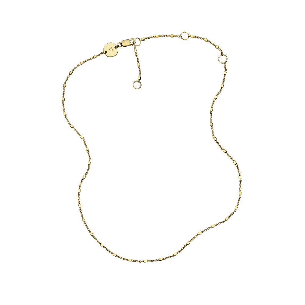 Jennifer Zeuner Jewelry Monique Necklace gold vermeil