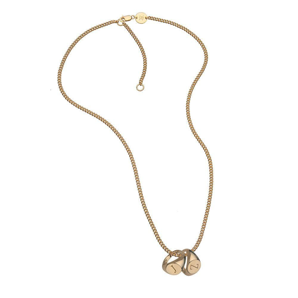Jennifer Zeuner Jewelry Reese Necklace gold vermeil