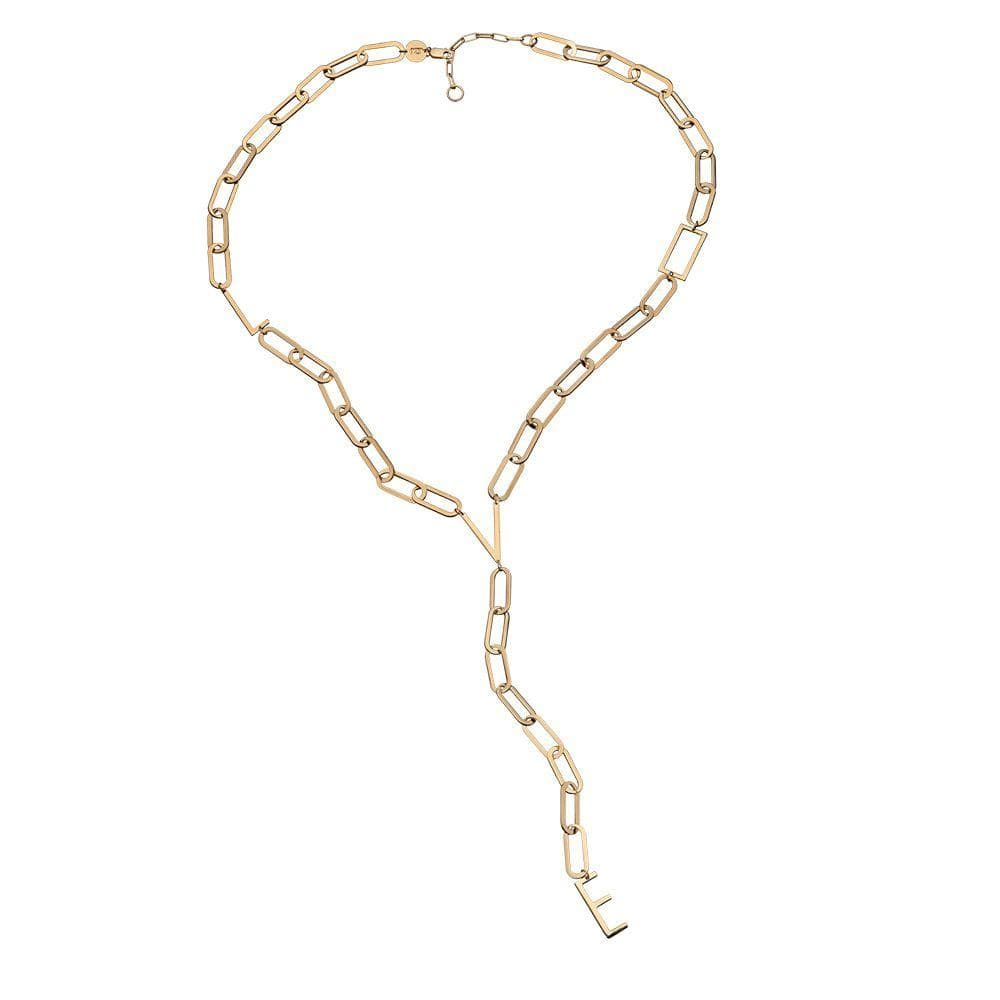 Jennifer Zeuner Jewelry Tati Necklace rose vermeil