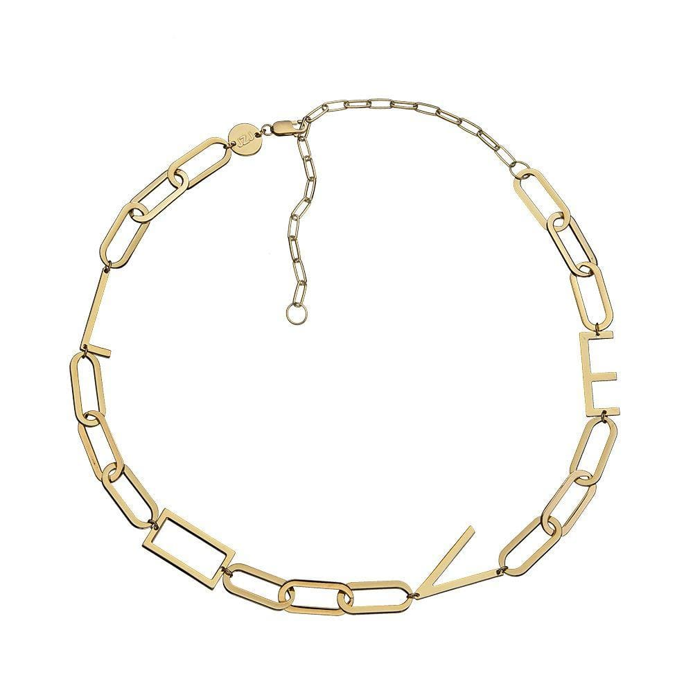Jennifer Zeuner Jewelry Edie Necklace rose vermeil