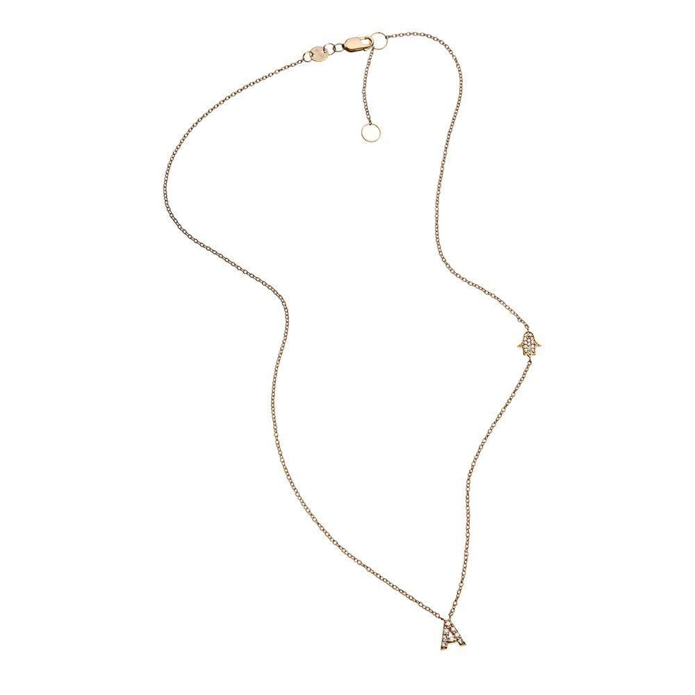 Jennifer Zeuner Jewelry Rumi 14k Necklace 14k yellow gold