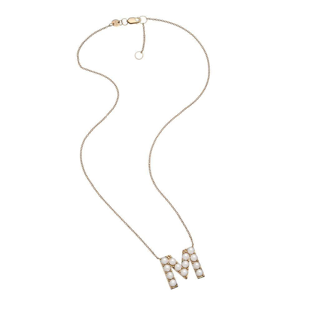 Jennifer Zeuner Jewelry LYM Necklace rose vermeil