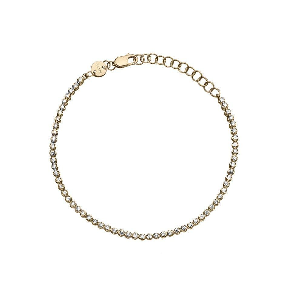 Jennifer Zeuner Jewelry Vartee 14k Bracelet 14k yellow gold