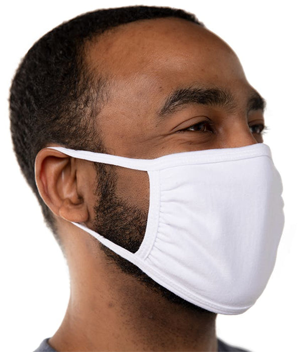Cotton Face Mask Triple‑ply - Made in USA - Wholesale