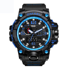 Load image into Gallery viewer, SMAEL 1545 Blue Multifunction Watch