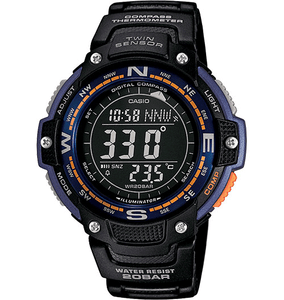 Casio SGW100-2B | Compass | Thermometer | 20 Bar WR