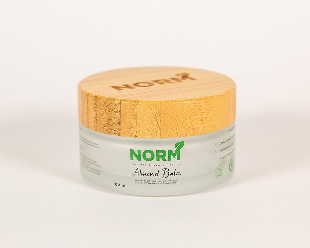 Almond Balm - Natural Organic Hand and Body Butter
