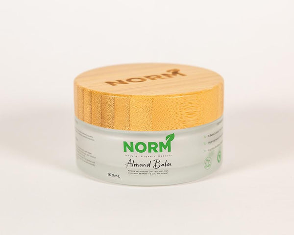 Almond Balm - Natural Organic Body Moisturizer