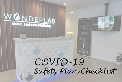 COVID-19 safety plan checklist | Wonderlab