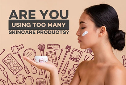 Are you using too many skincare products?