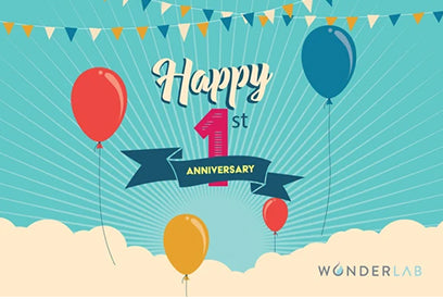 Celebrate Wonderlab Beauty's 1 Year Anniversary!
