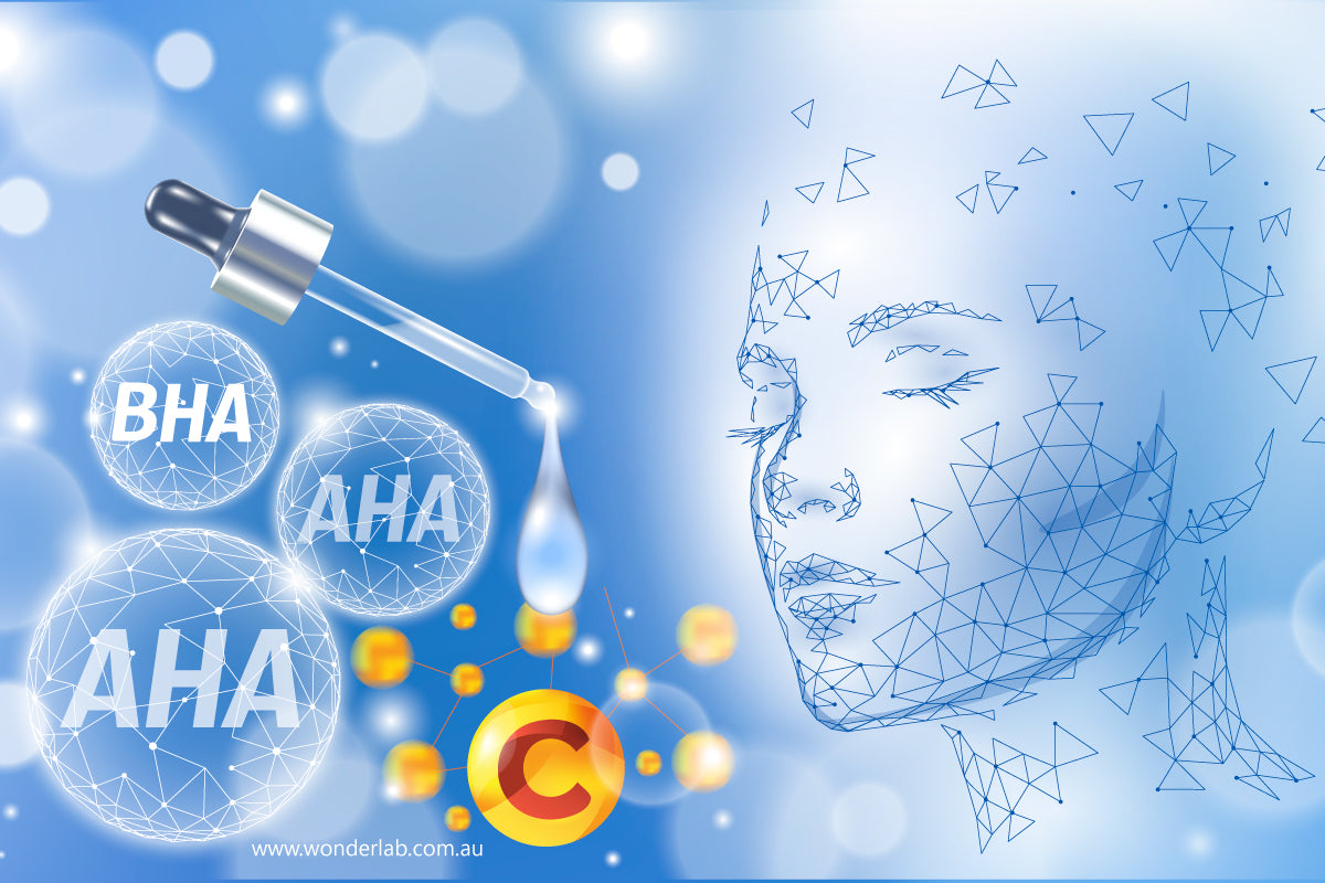 What vitamin C and an AHA or BHA can do for your skin?