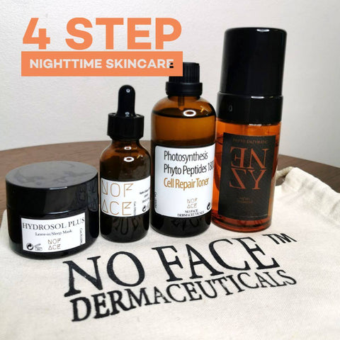 NO FACE 4 step Nighttime routine