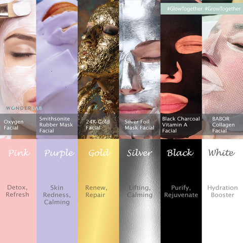 Healthy colour facial