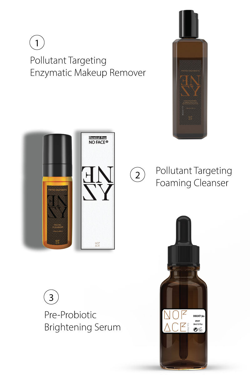 NO FACE® Pollutant Removal Box Set: