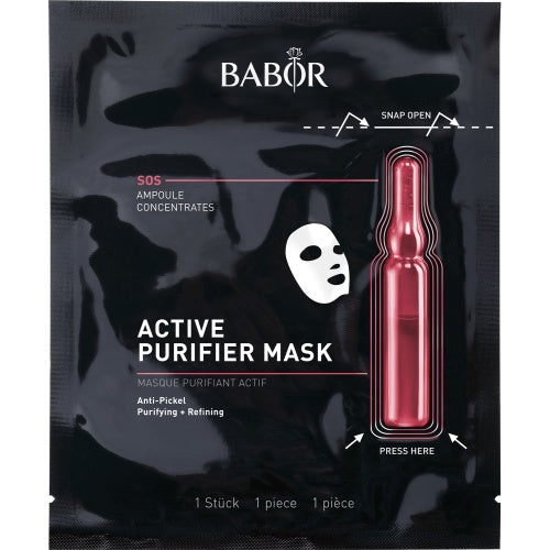 BABOR [SOS] Ampoules Concentrates - Active Purifier Mask [1 pc]