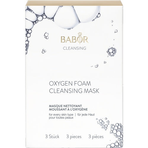 BABOR Cleansing - Oxygen Foam Cleansing Mask [3 pc]