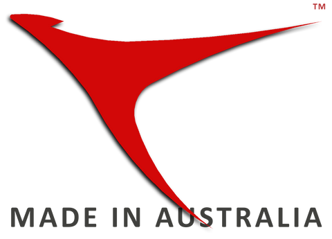 Created, designed, engineered,developed and manufactured by Australian owned companies.