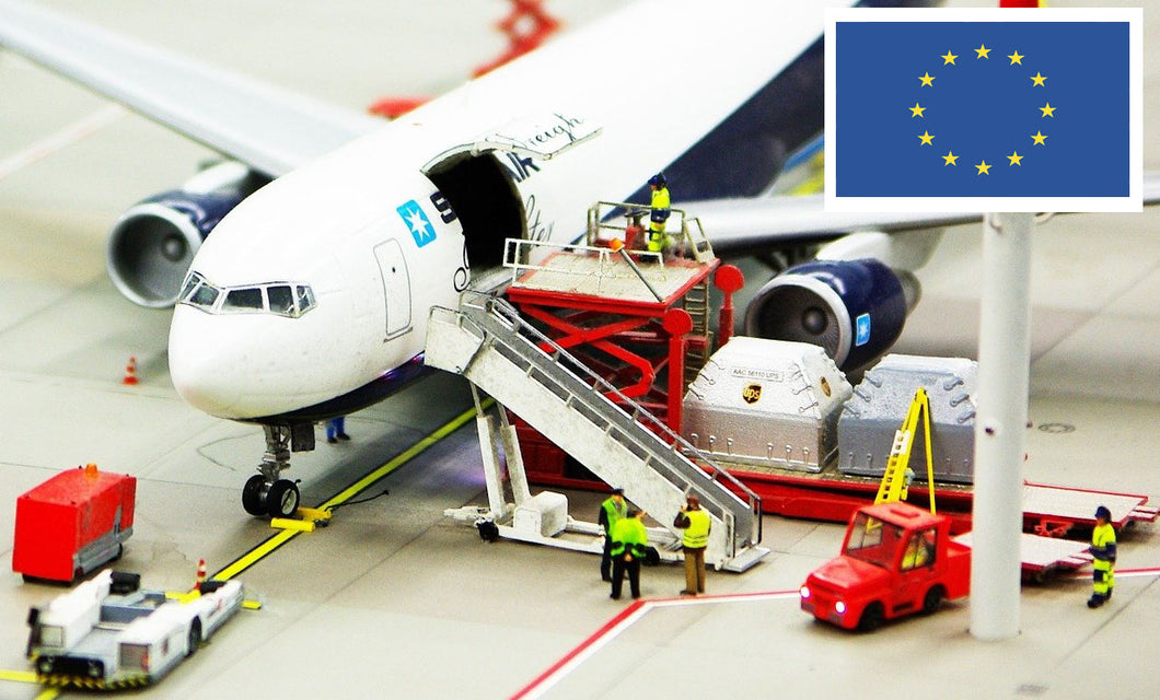 EU Airfreight per game unit to 3PL EU - Incl VAT