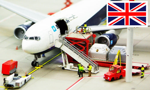 UK Airfreight per game unit to 3PL UK -Incl VAT