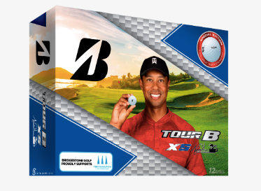Bridgestone Tour B RXS edición TIGER WOOD- Pelotas de Golf