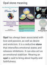 Load image into Gallery viewer, Opal Opal Opal