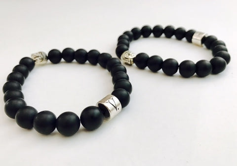 BLK Buddha Bracelet - CHIEF Merch