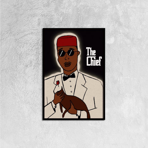 "CHIEF Prints: The Chief (Framed) 16ⅹ24"" - CHIEF Merch"