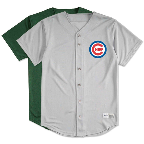 CHIEF (PopCulture Series): Home Baseball Jersey - CHIEF Merch